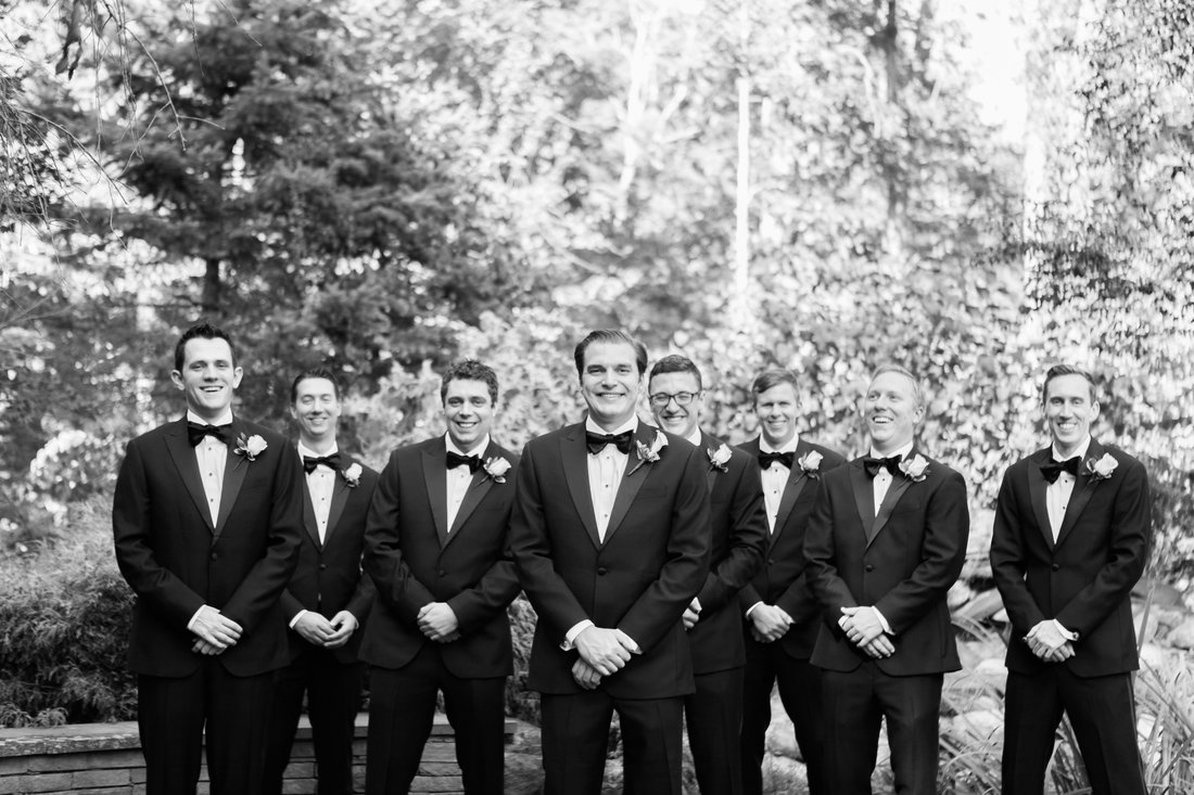 Groomsmen Tuxedos, The Black Tux