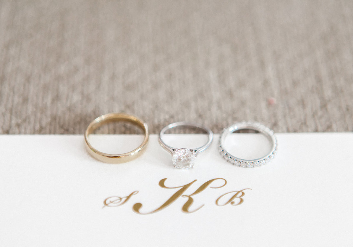 Bride and Groom Wedding Bands