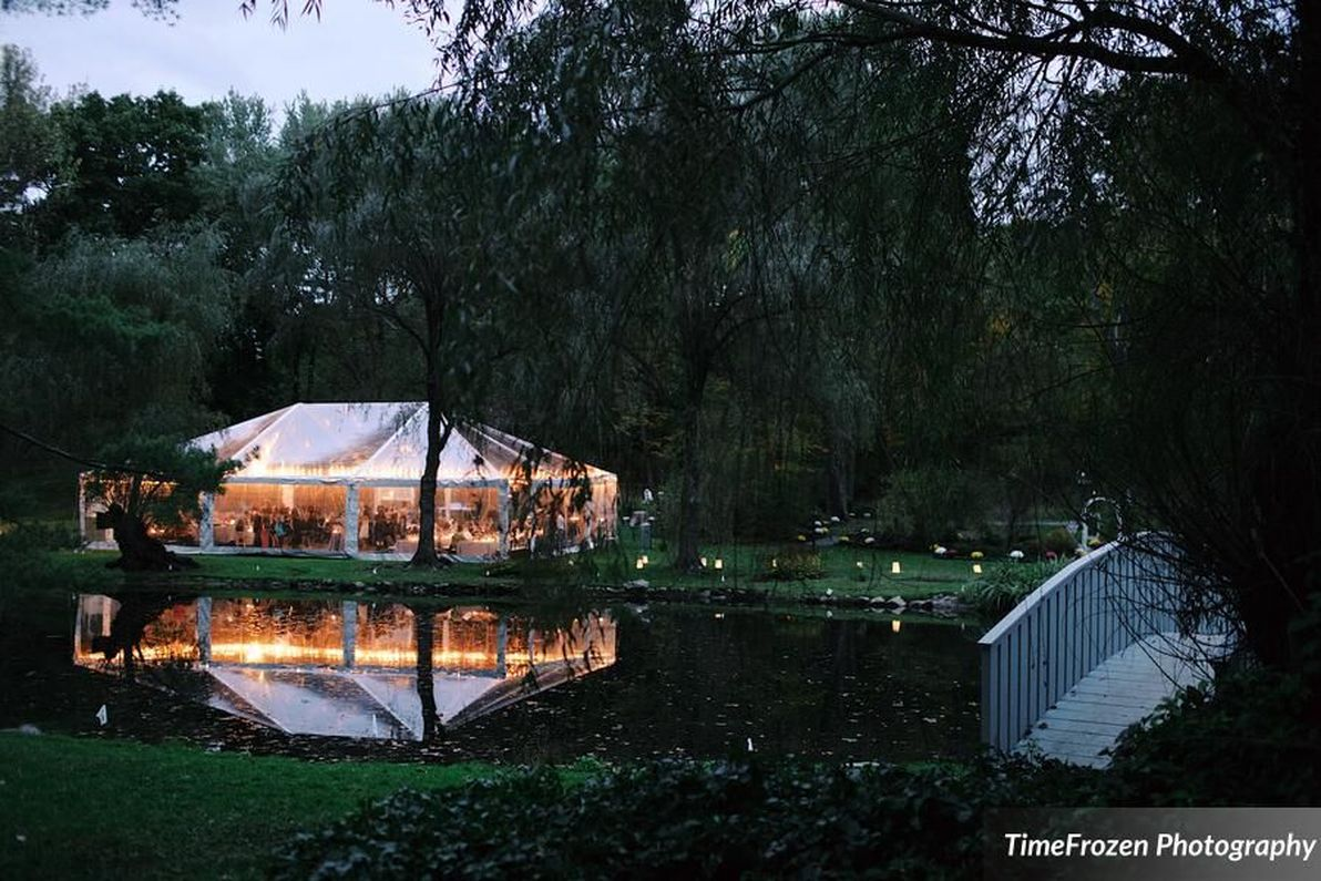 Clear Wedding Tent