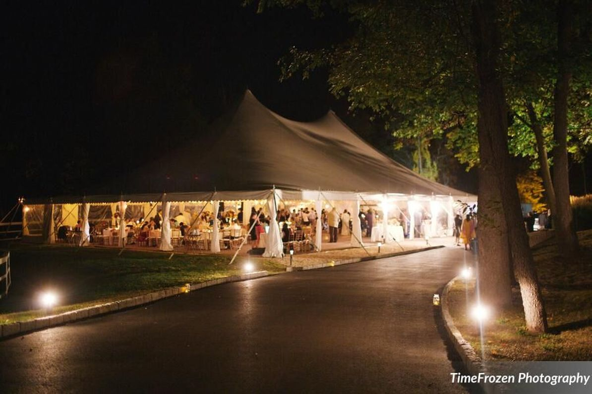Private Residence Tented Outdoor Wedding