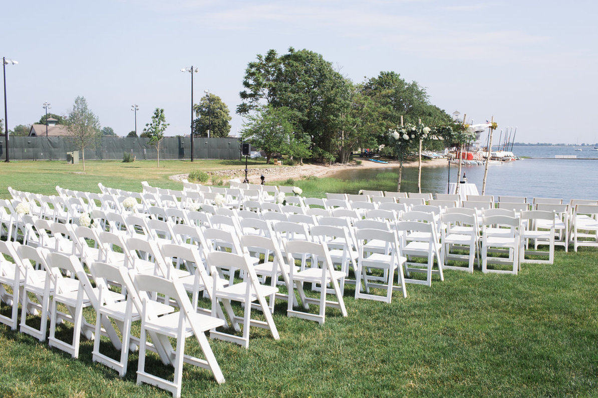 Outdoor Wedding Ceremony at The Inn at Longshore