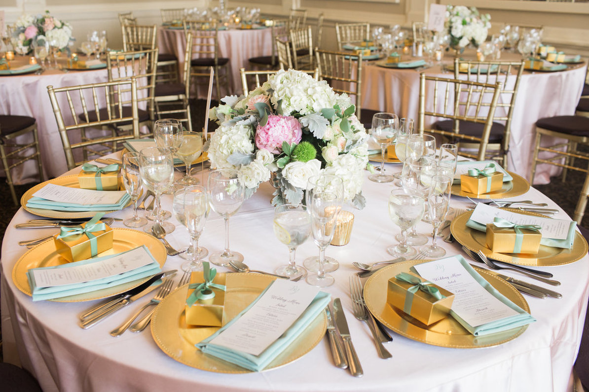 Blush and Gold Wedding, Double G Events