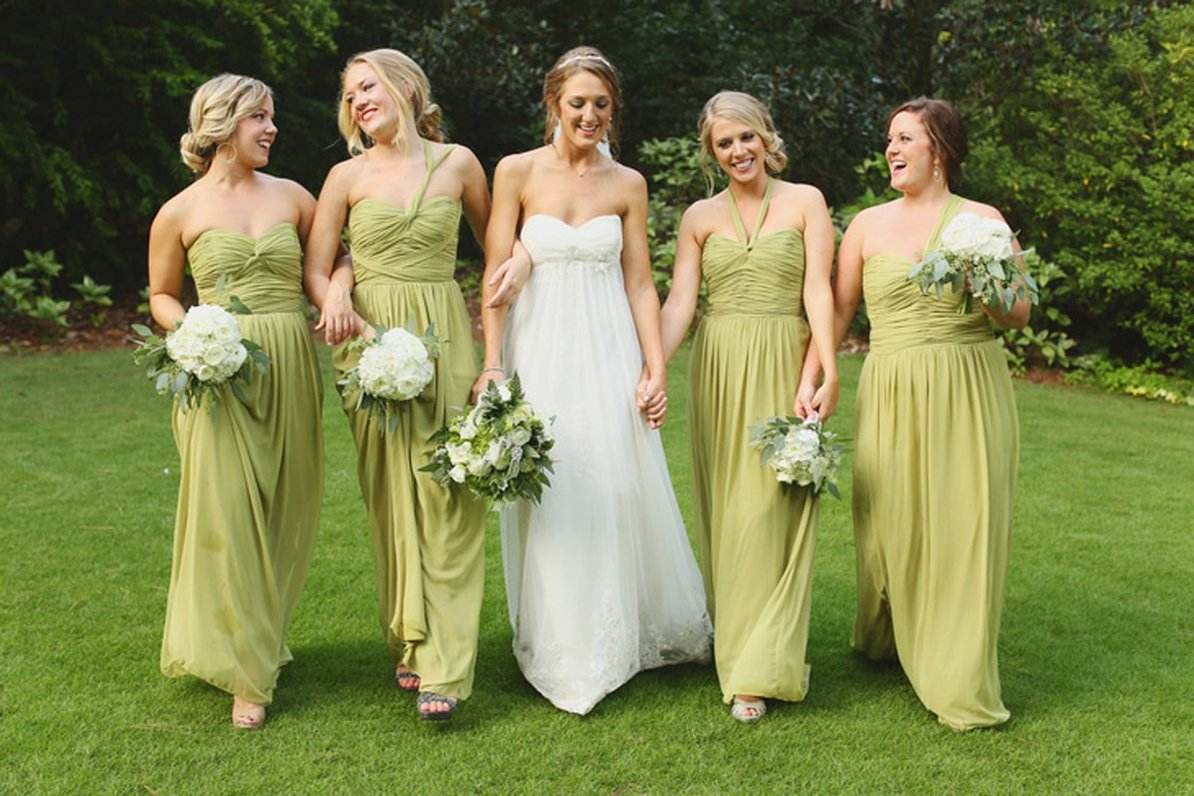 The Knot Olive Green Bridesmaid Dresses Connecticut Wedding Planner Double G Events